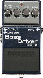 【ご購入特典つき!】BOSS / BB-1X BASS DRIVER【YRK】《/80-set12101》《特典つき!/+2307117130001》