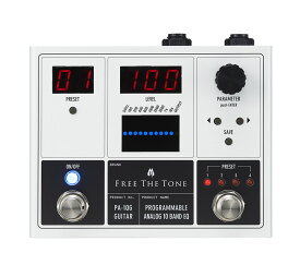 FREE THE TONE / PA-1QG PROGRAMMABLE ANALOG 10 BAND EQ ギター用イコライザー