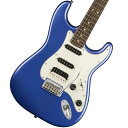 【タイムセール:31日12時まで】Squier by Fender / Contemporary Stratocaster HSS Ocean Blue Metallic Rosewood
