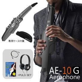 【在庫あり】Roland ローランド / Aerophone AE-10G エアロフォン グラファイトブラック デジタル管楽器 【アップグレードサイレント練習セット】【送料無料】【YRK】【電子マネーキャッシュバック対象商品】