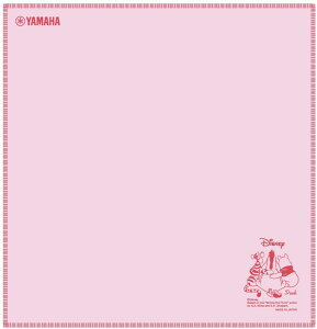 YAMAHA / ヤマハ Disney クリーニングクロス ウィニー・ザ・プー PCDXD9 《お取り寄せ商品》