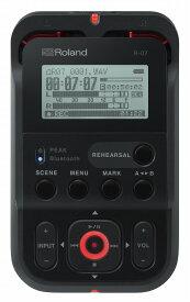 Roland ローランド / R-07 BK ブラックカラー オーディオ・レコーダー【YRK】