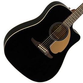 【タイムセール:29日12時まで】【在庫有り】 FENDER / REDONDO PLAYER Jetty Black (JTB) 【CALIFORNIA SERIES】フェンダー エレアコ アコギ アコースティックギター 【YRK】