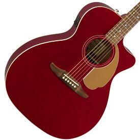 【タイムセール:1日12時まで】【在庫有り】 FENDER / NEWPORTER PLAYER CANDY APPLE RED (CAR)【CALIFORNIA SERIES】 フェンダー アコースティックギター エレアコ アコギ 【YRK】