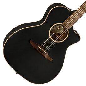 【在庫有り】 FENDER / NEWPORTER SPECIAL Matte Black (MBK) 【CALIFORNIA SERIES】フェンダー アコースティックギター 【YRK】