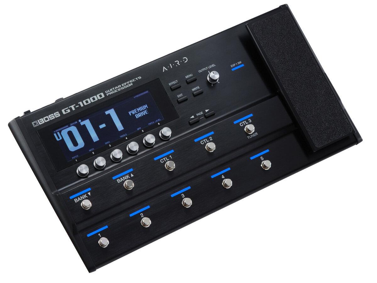 BOSS / GT-1000 Guitar Effects Processor ボス マルチエフェクター 【YRK】《予約注文/納期未定》