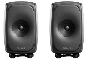 GENELEC ジェネレック / 8331AP (ダークグレー) スタジオ・モニター (ペア)【お取り寄せ商品】《予約注文/納期別途ご案内》【PNG】