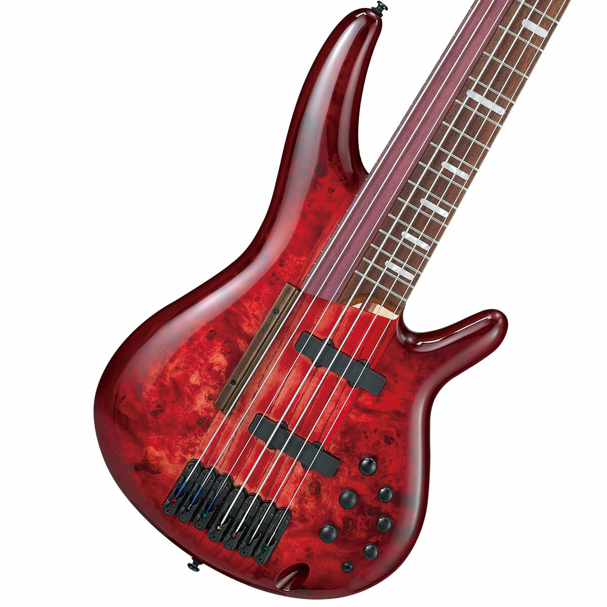 Ibanez / SRAS7 Raspberry Stained Burst Gloss (RSG) アイバニーズ 阿修羅ベース