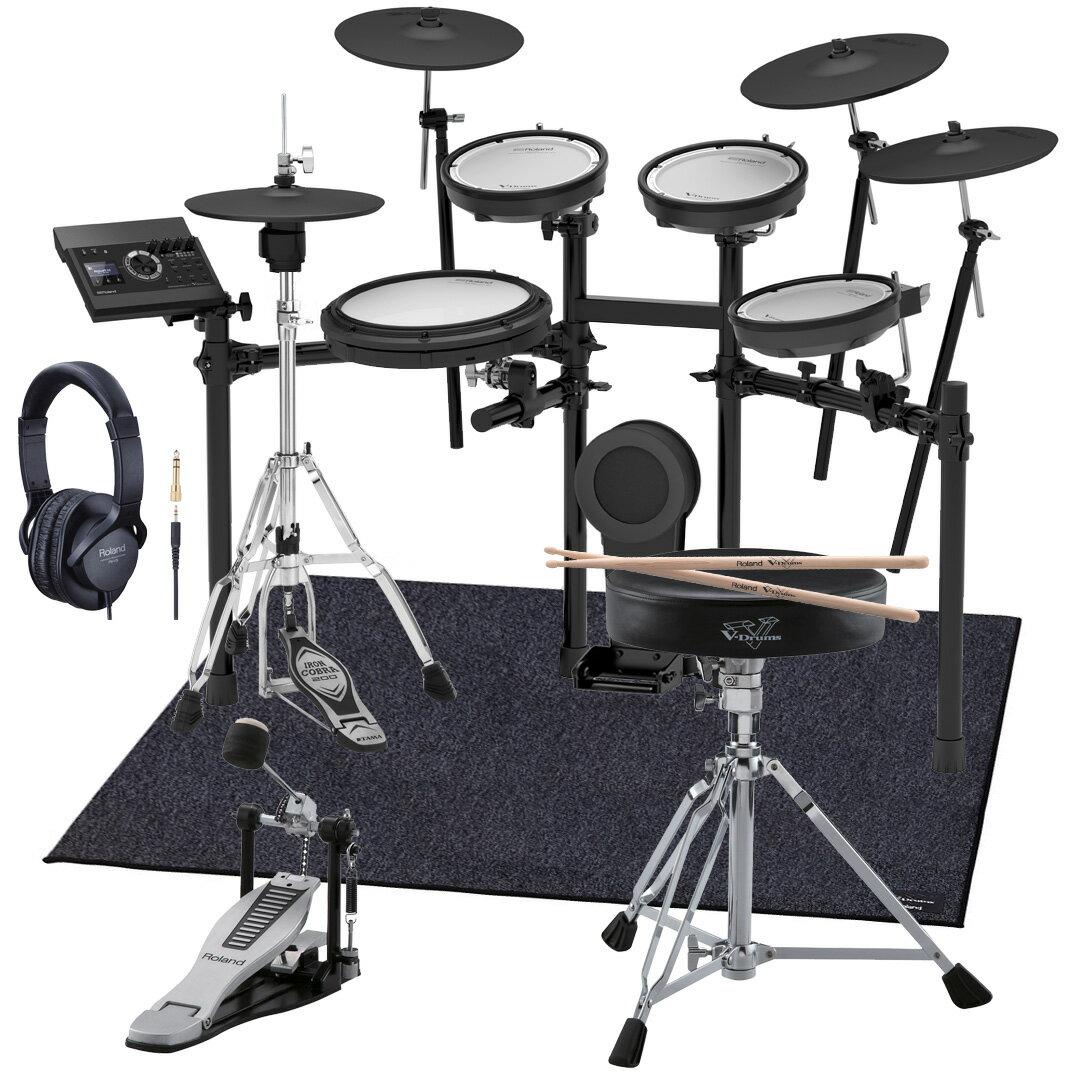 Roland 電子ドラム TD-17KVX-S 純正スターターパック TAMAハイハットスタンド付き【YRK】《予約注文/1月末以降/納期未定》