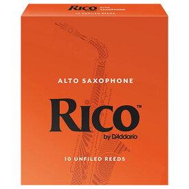 DAddario Woodwinds /RICO アルトサックス用リード オレンジ箱 10枚入 リコ ダダリオ 3 1/2 [LRIC10AS3.5]【お取り寄せ商品】