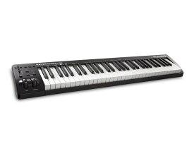 【在庫あり】M-AUDIO エムオーディオ / Keystation 61 MK3 61鍵セミウェイト USB-MIDI コントローラー