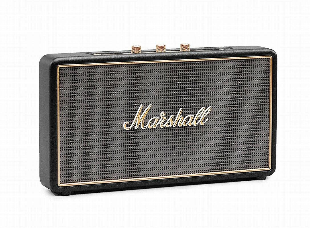 Marshall マーシャル / Stockwell Black ワイヤレス・スピーカー (ZMS-04091390)【お取り寄せ商品】