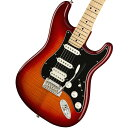 Fender / Player Series Stratocaster HSS Plus Top Aged Cherry Burst Maple Fingerboard【YRK】