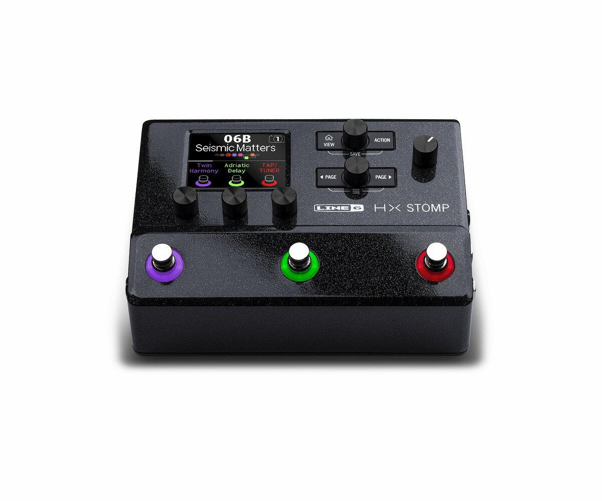 LINE6 / HX STOMP コンパクト プロフェッショナル ギタープロセッサー エフェクター【YRK】《予約注文/4月下旬以降入荷予定》
