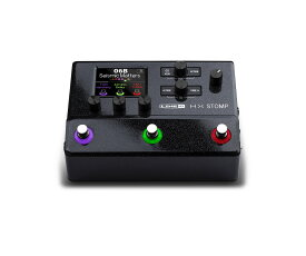 【在庫有り】 LINE6 / HX STOMP 《特典つき!/+2307117130001》 ライン6 コンパクト プロフェッショナル ギタープロセッサー エフェクター【YRK】