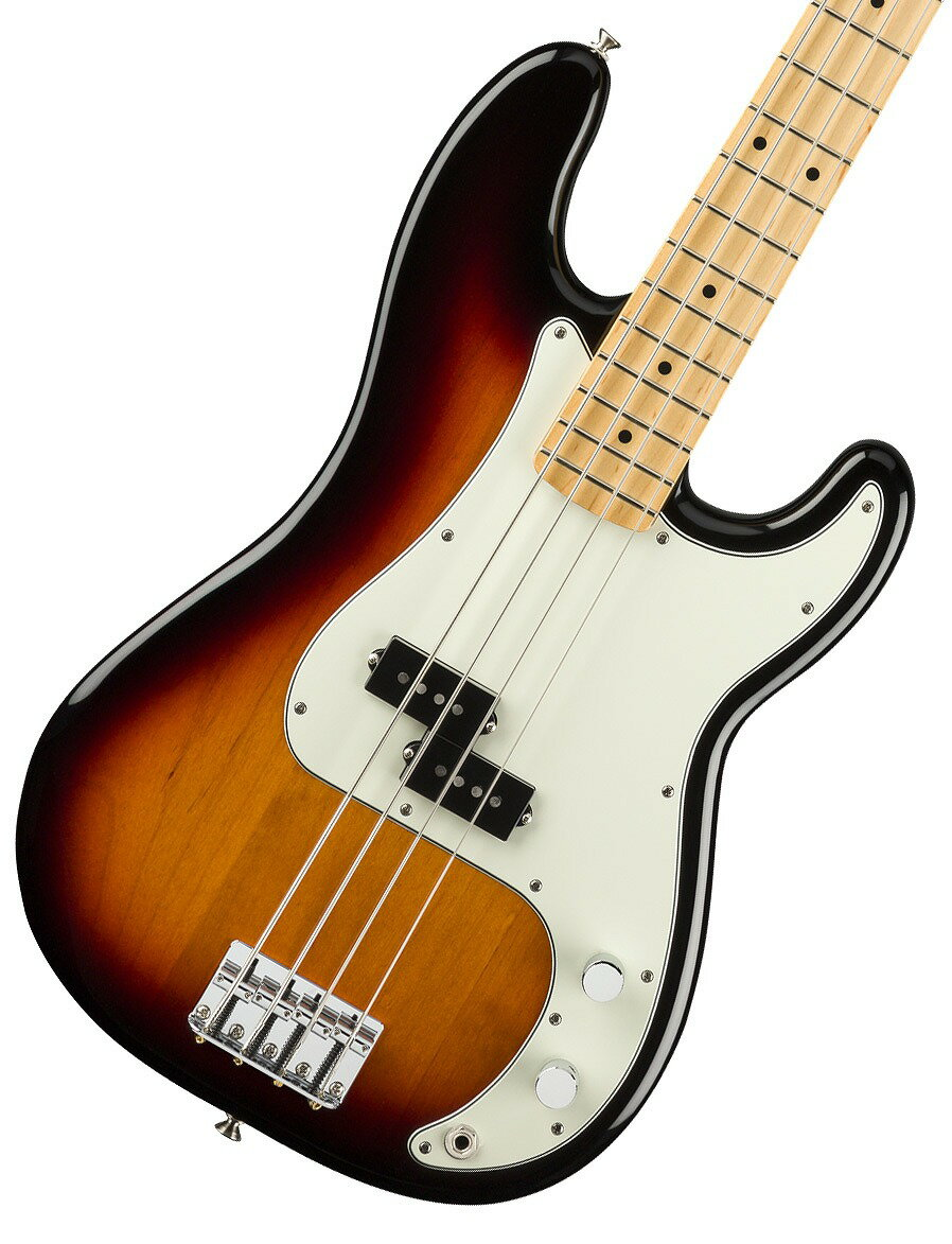 【タイムセール:29日12時まで】Fender / Player Series Precision Bass 3-Color Sunburst Maple【YRK】