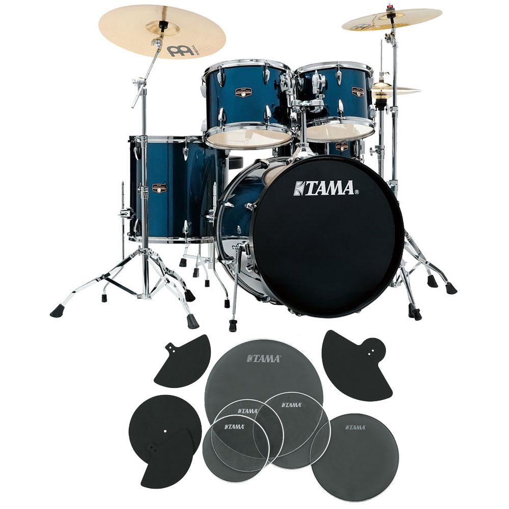 TAMA IP52H6HC-MNB ドラムセット サイレントパック付き一括セット