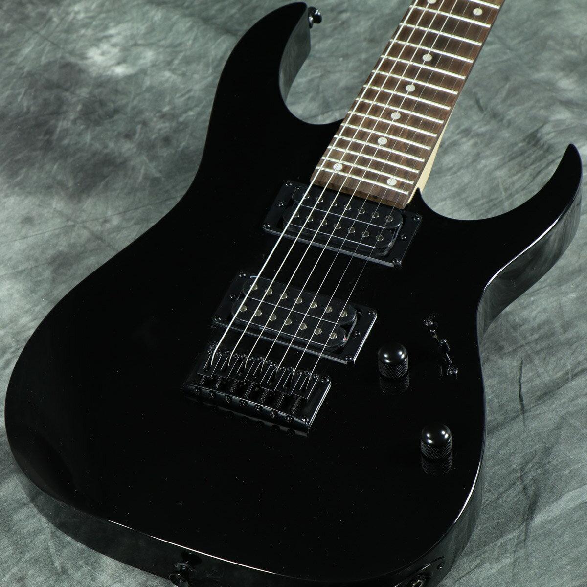 【タイムセール:31日12時まで】Ibanez / GIO Ibanez GRG7221 Black Night アイバニーズ【7弦ギター】【アウトレット大特価品】