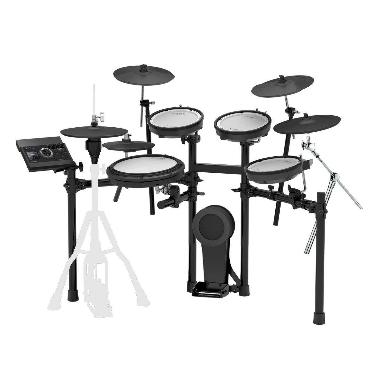 Roland 電子ドラム TD-17KV-S カスタム Expanded Set VH-10/CY-13R 4シンバル キット【にゃんごすたー&むらたたむスペシャル音色キットプレゼント中】【YRK】