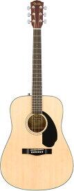 【在庫有り】 Fender Acoustic / CD-60S Dreadnought Natural WN フェンダー アコースティックギター アコギ フォークギター CD60S 入門 初心者 【YRK】【新品特価】