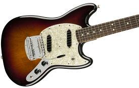 【タイムセール:27日12時まで】Fender USA / American Performer Mustang Rosewood Fingerboard 3-Color Sunburst フェンダー《純正ケーブル&ピック1ダースプレゼント!/+2306619444005》