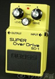 【在庫有り】 BOSS / SD-1 Super Over Drive 《9Vマンガン電池2個プレゼント!/+681215700×2》 ボス オーバードライブ エフェクター SD1 【YRK】