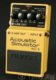 【あす楽365日】【ご購入特典つき!】BOSS / AC-3 Acoustic Simulator ボス アコースティックシミュレーター【YRK】《/80-set12101》《特典つき!/+2307117130001》