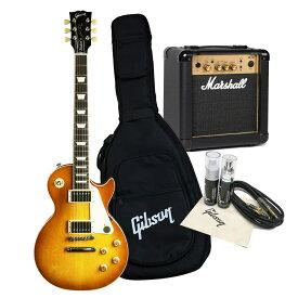 Gibson USA / Les Paul Standard 2019 Faded -WS Satin Honeyburst 50s Marshall MG10ampアクセサリーセット《特典付/80-set21419》【WEBSHOP】《純正ギグバッグ/+811171500》