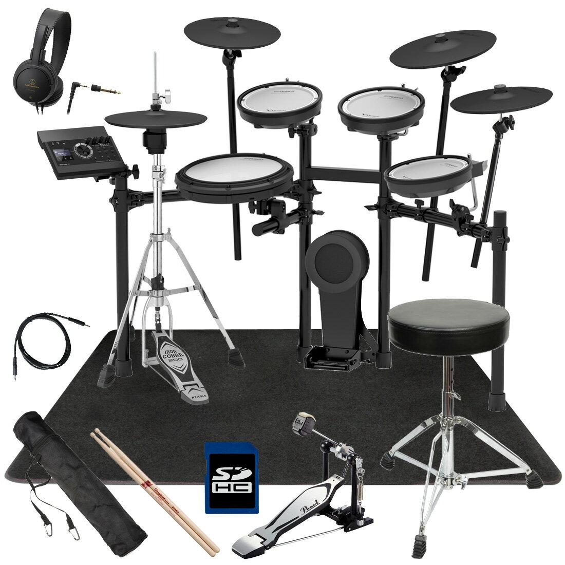 【今なら在庫あります】Roland 電子ドラム TD-17KVX-S ベーシックセット/オリジナルスターターパック マット付き【YRK】
