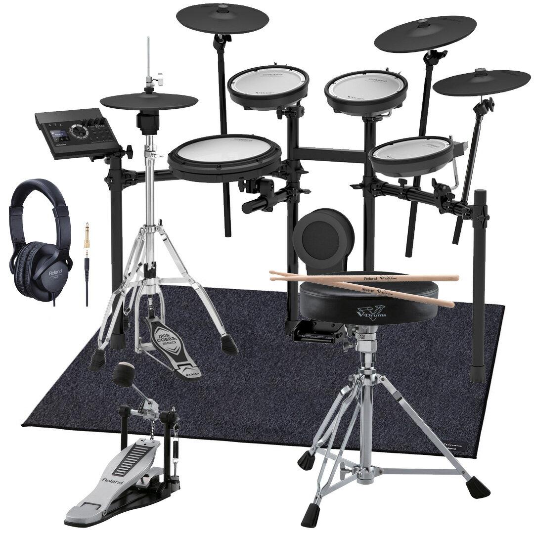 【今なら在庫あります】Roland 電子ドラム TD-17KVX-S 純正スターターパック TAMAハイハットスタンド付き【YRK】