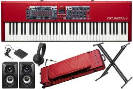 【あす楽365日】nord ノード / nord electro 6 HP【オプションセット!】73鍵盤ノードエレクトロ【YRK】