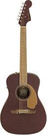 【タイムセール:29日12時まで】【在庫有り】 Fender Acoustic / Malibu Player Walnut Fingerboard Burgundy Satin フェンダー アコースティックギター エレアコ アコギ【YRK】