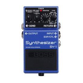 【ご購入特典つき!】【在庫有り】 BOSS / SY-1 Synthesizer ボス エフェクター SY1 【YRK】【PTNB】《/80-set12101》《特典つき!/+2307117130001》
