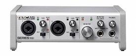 【在庫あり】TASCAM タスカム / SERIES 102i USBオーディオ/MIDIインターフェース