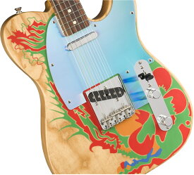 【タイムセール:27日12時まで】Fender / Jimmy Page Telecaster Rosewood Fingerboard Natural ドラゴンテレキャスター【新品特価】