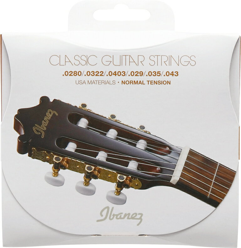 Ibanez アイバニーズ / ICLS6NT クラシックギター用弦 6弦 ノーマルテンション