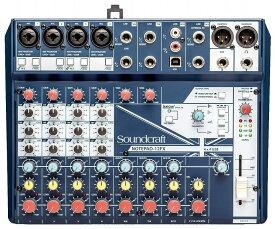Soundcraft サウンドクラフト / Notepad-12FX アナログ・ミキサー【お取り寄せ商品】