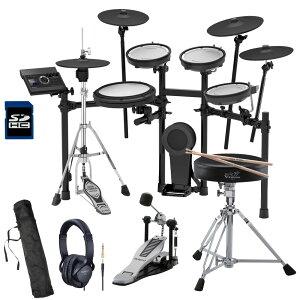 Roland電子ドラムTD-17KVX-S純正パックDAP-3XとRH-5ヘッドホンTAMAハイハットスタンドセット