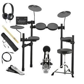 【あす楽365日】YAMAHA / DTX432KS 電子ドラム ヤマハ純正ヘッドホンとスティックセット【YRK】