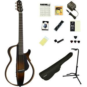 YAMAHA / SLG200S TBS (タバコブラウンサンバースト) 【充実のアクセサリーつき16点セット】 ヤマハ サイレントギター アコースティックギター スチール弦仕様 SLG-200S【YRK】