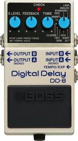 【ご購入特典つき!】【在庫有り】 BOSS / DD-8 Digital Delay ボス ディレイ エフェクター DD8【YRK】《/80-set12101》《特典つき!/+711713000》