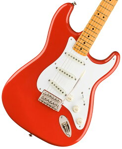 Squier by Fender / Classic Vibe 50s Stratocaster Maple Fingerboard Fiesta Red スクワイヤー【新品特価】《純正弦プレゼント!/+2306313125903》