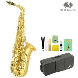 SELVA (セルバ) 初心者向けアルトサックス入門セット ALTOSAX SAS-100 【管楽器初心者】