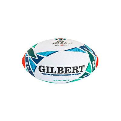 【即日発送/メール便不可】GILBERT ギルバート RWC2019レプリカミディボール (長さ約23.5cm) GB-9014