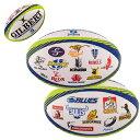 ギルバート ラグビーボール スーパーラグビー・オールチームロゴボール(5号) GB-9392