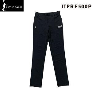 【送料無料】IN THE PAINT インザペイント レフリーパンツ ブラック メンズ スリムタイプ (ITPRF500P) バスケット 審判 パンツ
