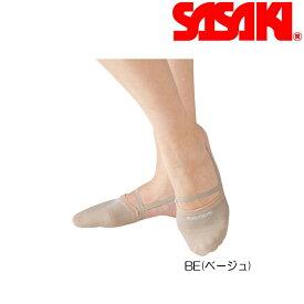 新体操 ササキ スポーツ DEMI SHOES (デミシューズ) 153 【メール便可能】 SASAKI 体操 シューズ ソックス 靴 くつ 足 つま先