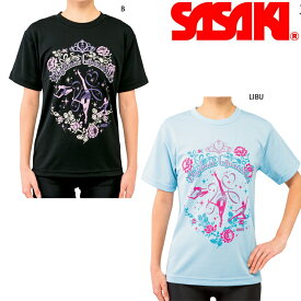 新体操 ササキ スポーツ R.G ドライTシャツ 539 【メール便可能】 SASAKI 体操 tシャツ 半袖 RG