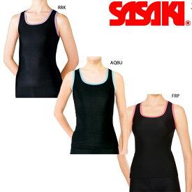 SASAKI ササキスポーツ Yバックロングトップ (7042)【メール便可能】ササキ 新体操 エクササイズウェア ストレッチ
