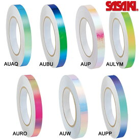 新体操 ササキ スポーツ オーロラテープ HT-8 幅1.5m 長さ33m SASAKI 体操 テープ デコレーション